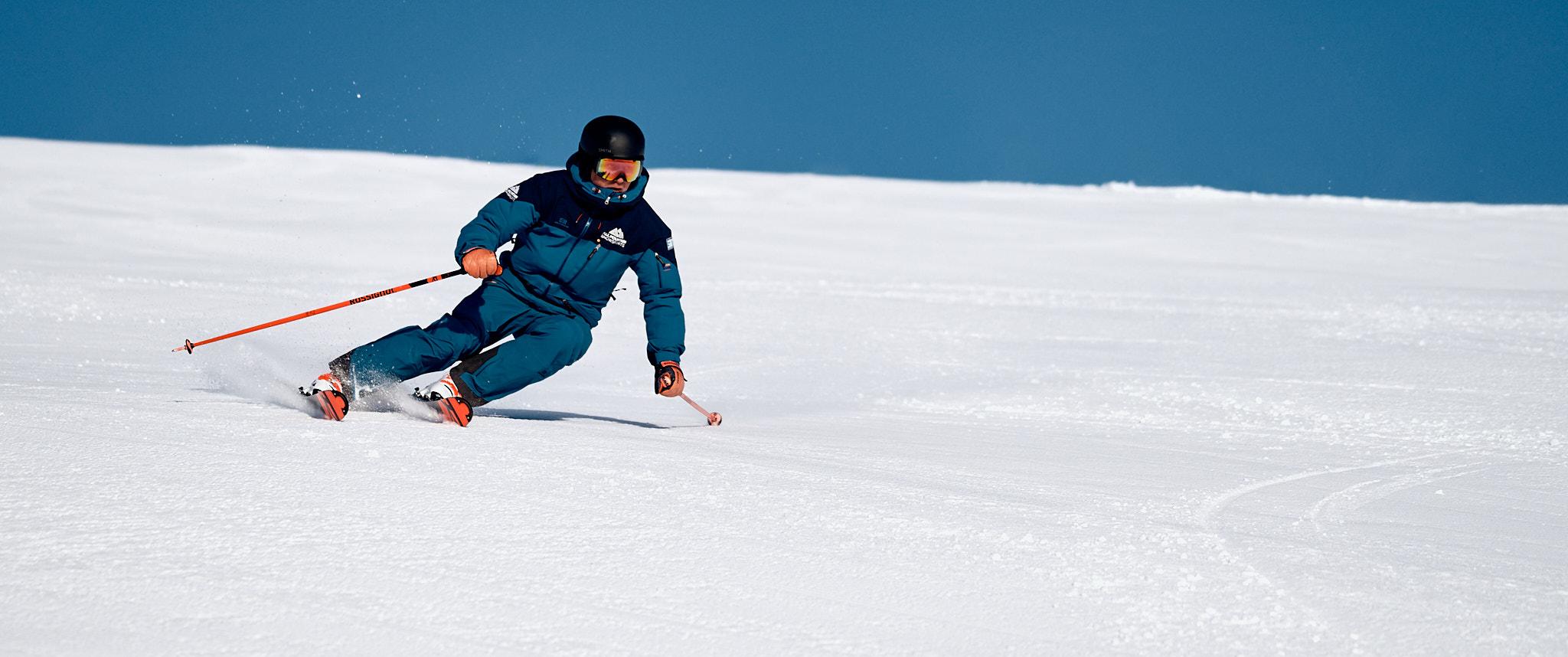 Ski Instructor Skiing