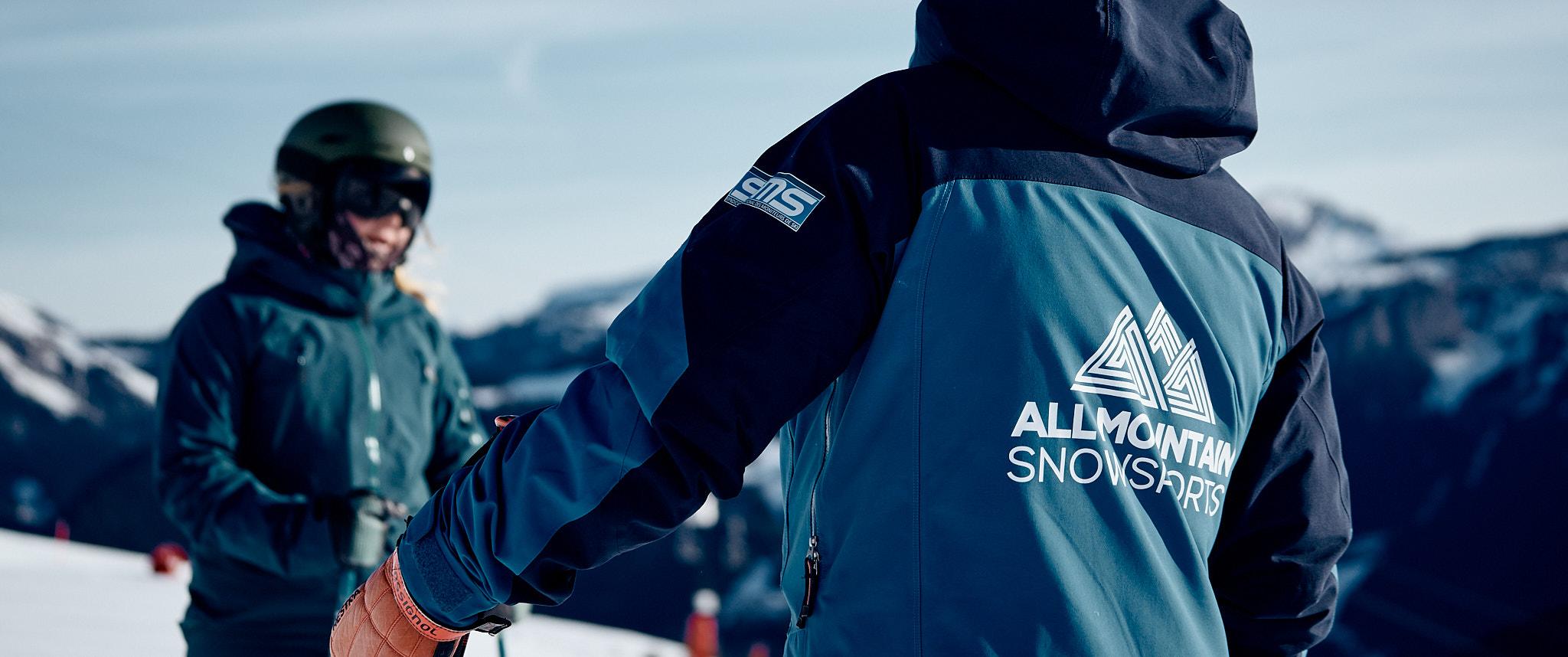 Ski Instructor teaching Private Lesson